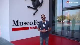Day 2: ICICI Bank Top Spenders #LiveTheFerrariDream at Maranello