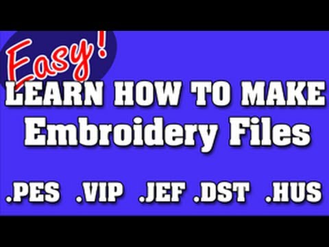 Hatch Embroidery Digitizing In Depth - Youtube Download