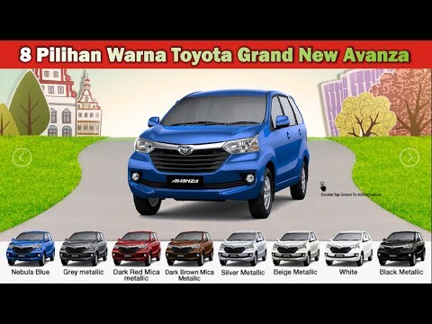Grand New Avanza Warna Harga Veloz 2015 Mobil Toyota 2018 Galeri Youtube Video
