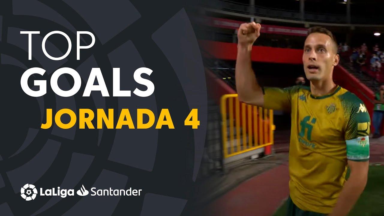 Todos los goles de la jornada 4 de LaLiga Santander 2021/2022