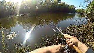 Рыбалка джигом на малых реках рязани