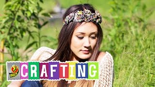 How To Craft A Duct Tape Rose Headband