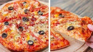 No Yeast No Oven Chicken Pizza Recipe | Easy Snacks Recipe | Home Made Pizza Recipe | Toasted