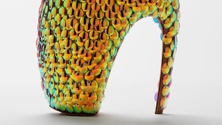 The Museum of Savage Beauty: The Armadillo Boot