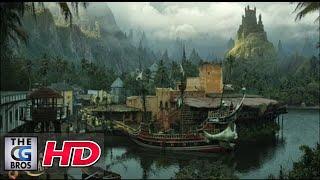 CGI VFX Breakdowns / Showreels HD: Matte Painting Set Extension