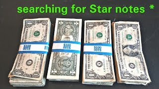 Searching for Star notes $350 in ($1) !!