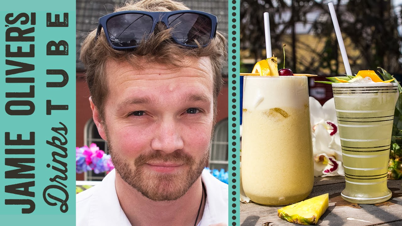 Pi̱a Colada Cocktail РTwo Ways