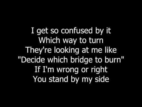 Over My Shoulder - Rudderless - Lyrics