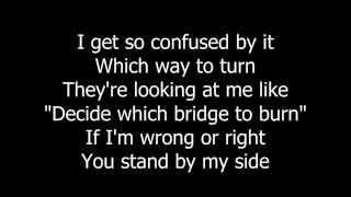 Over My Shoulder - Rudderless - Lyrics