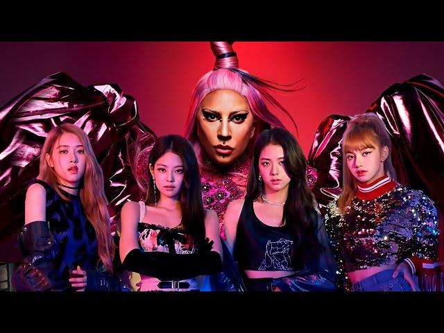 Lady Gaga Blackpink Sour Candy Music Video