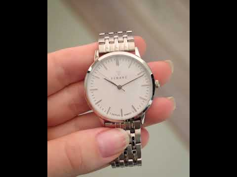 Renard Elite 35.5 ladies watch white/silver