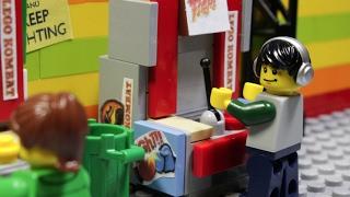 Lego Mortal Kombat - мультфильм Лего зал игровых автоматов