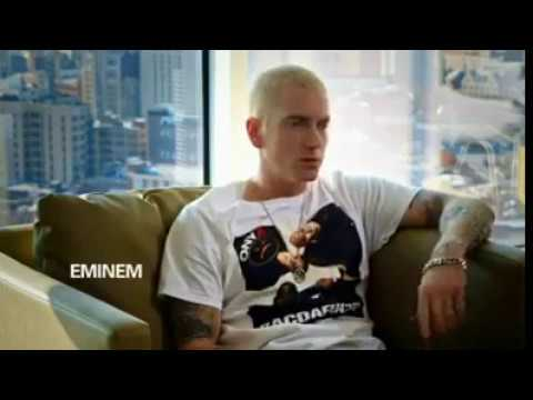 Dr. Dre discusses discovering Eminem and their first encounter in the studio.