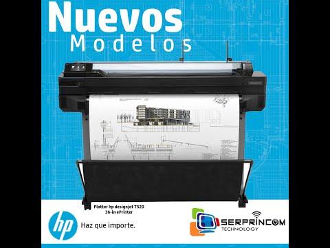 HP Designjet T520  - Un Plotter Todo Terreno