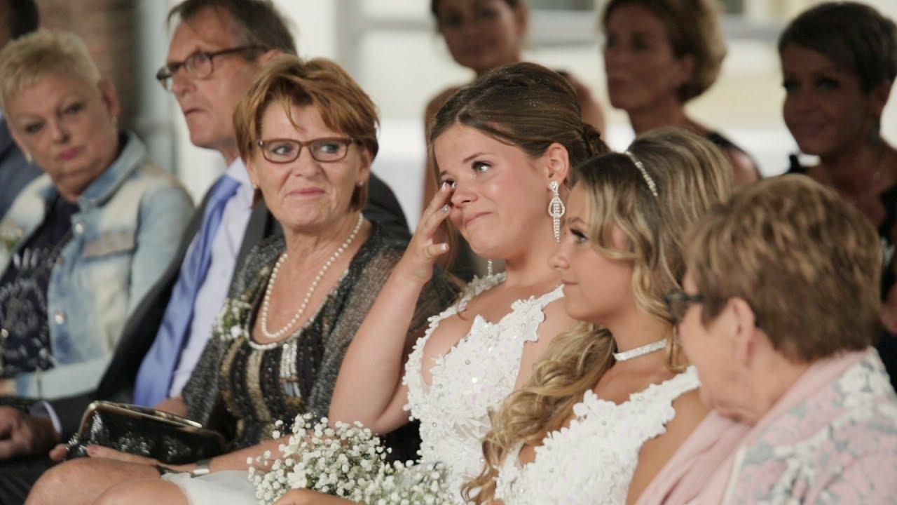 Bruidegom bedankt zijn dochter