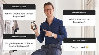 Men's Fashion & Personal Q&A | Style Rules!? Am I Bi? | ASK ODS #1