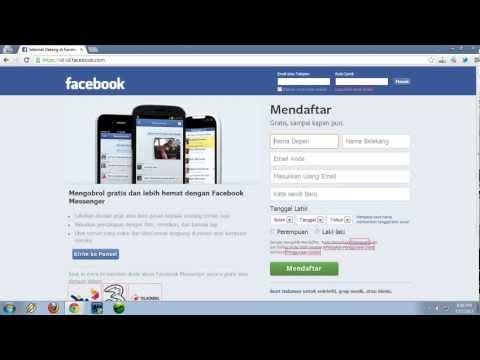 Video Cara Membuat Facebook Terbaru 2016
