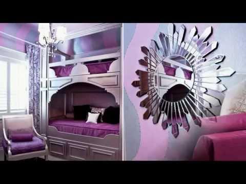 Фиолетовый цвет в интерьерах, часть 1