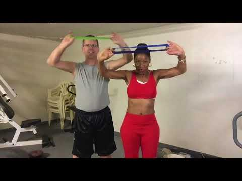 Resistance Bands for Upper Body!! Sagging arms this is for you!!