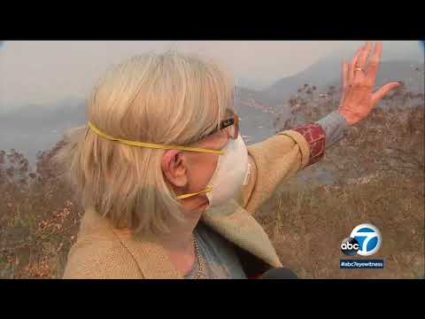 Thomas fire resurges near Montecito | ABC7