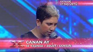 Canan Ay - Değmesin Ellerimiz Performansı - X Factor Star Işığı