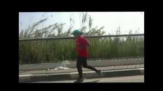 preview picture of video 'العداءة الماليزية سويبه ناصر تغادر محافظة بني سويف'