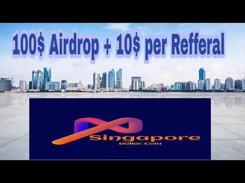 Ganhe ~$100 USD no Formulário de Airdrop da Exchange Singapore ! Muito Fácil .