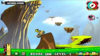 Game dua xe dia hinh - Game siêu nhân đua xe vượt địa hình