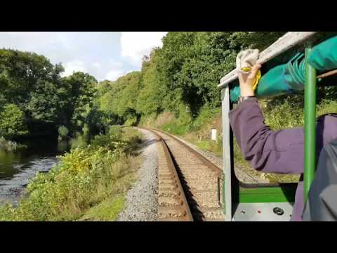 Ride in a Wickham Trolley at the South Devon Railway 1st Oct…