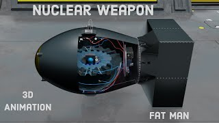 HOW FAT MAN WORKS ?   Nuclear Bomb ON Nagasaki   WORLD'S BIGGEST NUCLEAR BOMB   Learn from the base.