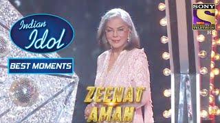 Zeenat जी ने Grace किया Show With Her Charming Presence! | Indian Idol Season 12