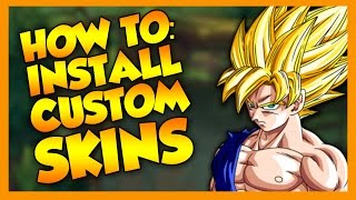 How to Install Custom Skins - League of Legends