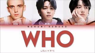 {VOSTFR/ENG} LAUV x  JIMIN & JUNGKOOK of BTS (방탄소년단) - 'WHO' (Color Coded Lyrics Français/English)