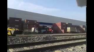 preview picture of video 'Container loading on Jspl Raigarh'