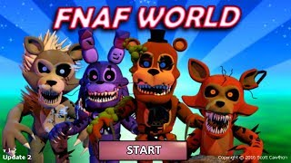 FNaF World: Twisted ones Animatronics Complete! (Mod)