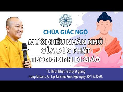 Mười điều nhắn nhủ của đức Phật trong Kinh Di giáo