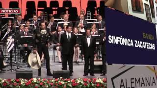 Concierto Banda Sinfónica de Zacatecas