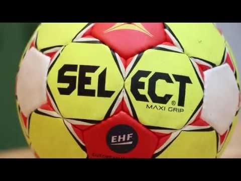 Review Handbälle: Select Maxi Grip (erster selbstklebender Ball der Welt)