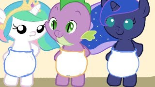 Бешеный Аттракцион.Карманная пони. Мультик игра для детей. My little pony. дружба это чудо