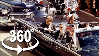 The JFK Assassination in 4K 360°  VR