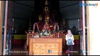 Wisatawan Skotlandia Nikmati Kedamaian saat Berada di Vihara Buddhagaya Watugong Semarang