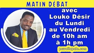 MATIN DÉBAT - Lundi 10 Décembre 2018 / Louko Désir & Konpayi