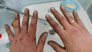 Чистые руки после ремонта авто - Это ВОЗМОЖНО!