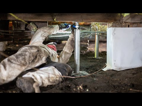 Crawlspace Support and Moisture Control in...