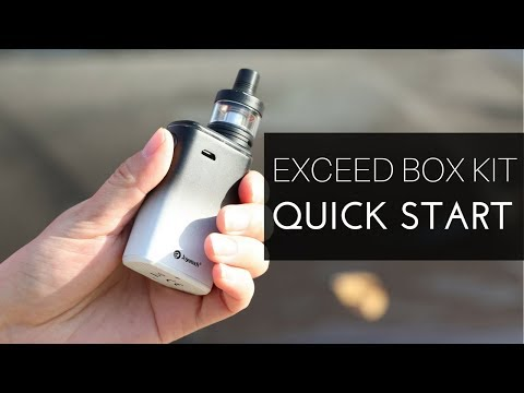 YouTube Video zu Joyetech Exceed Box Kit mit D22C Verdampfer 2 / 3.5 ml 3000 mAh