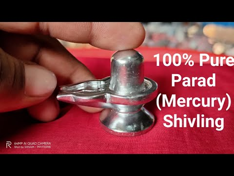 100% Pure Parad ( Mercury) Shivling For Daily Home Pooja