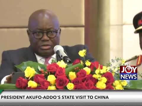 Pres. Akufo-Addo projects relatively high economic growth for Ghana.(03-09-18)