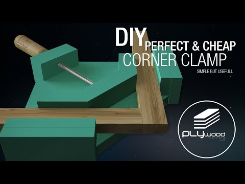 Diy Perfect & Cheap Corner Clamp - Angle Clamp