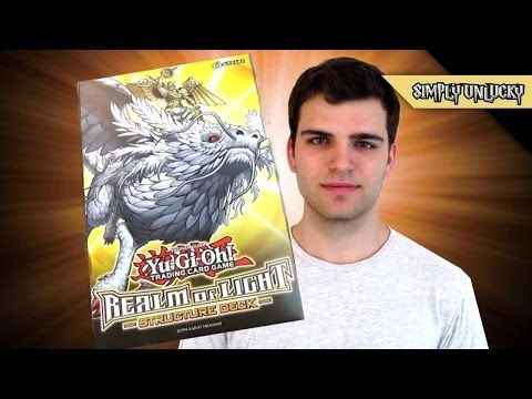 Best Yugioh Realm of Light Structure Deck Opening and Review! Lightsworns!!!