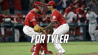MLB | Angels Honor Tyler Skaggs with No-Hitter